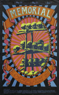 Music Memorabilia:Posters, Grateful Dead - Memorial Poster, Carousel Ballroom (1969). 1969 wasa tough year for Rock and Roll. The Stones had deaths du...