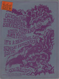 Music Memorabilia:Posters, Grateful Dead Concert Handbill and Ticket group (1970) One of theharder to find handbills from the Grateful Dead and Quicks...(Total: 2 )