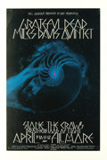 "Music Memorabilia:Posters, Grateful Dead ""Seashell"" Fillmore West Concert Poster #BG227 (BillGraham, 1970) A hard-to- find first printing (of only two..."