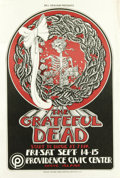 Music Memorabilia:Posters, Grateful Dead Providence Civic Center Concert Poster (Bill Graham,1973) Get ready to boogie with the Dead! The Grateful Dea...