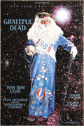 Music Memorabilia:Posters, Grateful Dead New Year's Oakland Concert Poster (Bill Graham, 1988) For the legion of Deadheads, there was no better way to ...
