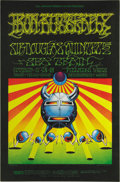 Music Memorabilia:Posters, Iron Butterfly Fillmore Concert Poster BG141 (Bill Graham, 1968).Zap Comix fans, please take note of this wild Iron Butterf...