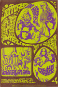 Music Memorabilia:Posters, Jefferson Airplane Fillmore/Winterland Concert Poster #BG88 (BillGraham, 1967). Bill Graham's lovely companion, Bonnie MacL...
