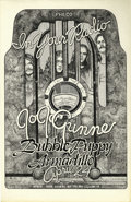 "Music Memorabilia:Posters, JoJo Gunne/Bubble Puppy ""In Your Radio"" Concert Poster (ArmadilloWorld Headquarters, 1974) Singer Jay Ferguson formed JoJo ..."
