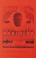 "Music Memorabilia:Posters, Lou Rawls ""The Show"" Concert Poster (1968) Bolstered by his first Grammy, Lou Rawls named his 1968 tour simply enough ""The S..."