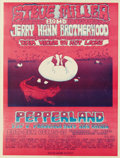 Music Memorabilia:Posters, Steve Miller Band Concert Poster (Pepperland, 1970) From the firstyear of Pepperland comes this seldom-seen poster. Measur...