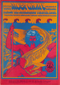 "Music Memorabilia:Posters, Moby Grape ""Neptune's Notions"" Avalon Concert Poster FD-49 (FamilyDog, 1967) All but forgotten today, San Francisco's Moby ..."