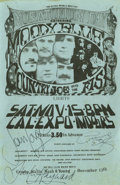 Music Memorabilia:Autographs and Signed Items, Moody Blues Signed Handbill (1969) The Moody Blues were at a careerpeak in 1969, with a string of hits and several successf... (Total:4 )