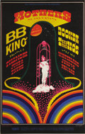 Music Memorabilia:Posters, Mothers of Invention Fillmore/Winterland Concert Poster #BG123(Bill Graham, 1968) Back in the heady days of 1968, it didn't...