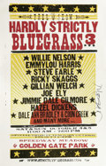 Music Memorabilia:Posters, Willie Nelson Picnic Concert Poster Group (1973-80) Willie Nelsonbegan his much-loved tradition of holding a festival-style...(Total: 3 )