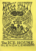 Music Memorabilia:Posters, Nitty Gritty Dirt Band/Standells Ice House Concert Poster (1968) In1968, the Nitty Gritty Dirt Band decided to try somethin...