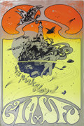 Music Memorabilia:Posters, Pink Floyd UFO Concert Poster (Osiris UK, 1967) For that mostcosmic of all English bands circa 1967, comes this incredible ...