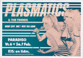 Music Memorabilia:Posters, Plasmatics Paradiso Concert Poster (undated, circa 1980) Catch adouble dose of the incredible Wendy O. Williams in this lar...