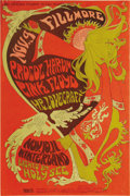 Music Memorabilia:Posters, Procol Harum/Pink Floyd Winterland Concert Poster BG92 (BillGraham, 1967) Here's a never-reprinted poster for the greatest ...