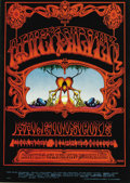 "Music Memorabilia:Posters, Quicksilver Messenger Service ""Eternal Reservoir"" Avalon ConcertPoster FD-101 (Family Dog, 1968) Poster artist Rick Griffin..."