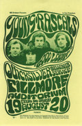 Music Memorabilia:Posters, Young Rascals Fillmore Concert Handbill #BG24 (Bill Graham, 1966)One of the tougher to get handbills from the early days o...