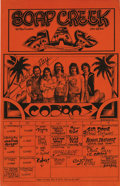 Music Memorabilia:Posters, Paul Ray and the X-Rated Cobras with Stevie Ray Vaughn Poster (SoapCreek, 1976) Guitar legend Stevie Ray Vaughn spent his e...