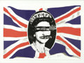 "Music Memorabilia:Posters, Sex Pistols ""God Save the Queen"" Limited Edition Print #319/320(1997). One of the most controversial songs to come out of ..."