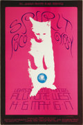 Music Memorabilia:Posters, Spirit Fillmore Concert Poster and Postcard #BG233 (Bill Graham,1970) Spirit was an amazing combo which combined elements o...(Total: 2 )