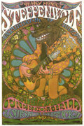 Music Memorabilia:Posters, Steppenwolf Freedom Hall Concert Handbill (1969) A seldom seenhandbill of one of the '60s most popular acts. In 1969, Stepp...