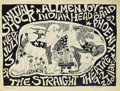 "Music Memorabilia:Posters, Straight Theatre Concert Poster (1968) One of the ""hippest"" clubsin San Francisco in the late 1960s was the Straight Theatr..."