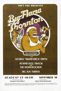 Music Memorabilia:Posters, Big Mama Thornton Academy of Music Concert Poster (Soft EggProductions, 1970) New York City's Academy of Music was the scen...