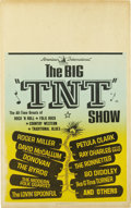 Music Memorabilia:Posters, TNT Show Window Card (American International, 1966) This top-notch concert movie is one of the best of it's kind to emerge f...