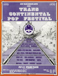 "Music Memorabilia:Posters, Trans Continental Pop Festival Original Concert Poster (1970). If you happened to catch the recent DVD release ""Festival Exp..."