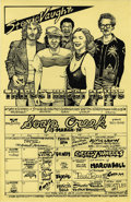 Music Memorabilia:Posters, Stevie Vaughn and Triple Threat Soap Creek Saloon Poster (1978) Ifyou were hanging out around Austin in the mid-late 1970s,...