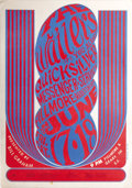 Music Memorabilia:Posters, Wailers Fillmore Concert Poster #BG 11 (Bill Graham, 1966) Thefabulous Wailers from Tacoma, Washington (not to be confused ...