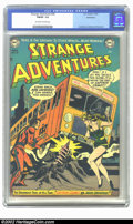 Golden Age (1938-1955):Science Fiction, Strange Adventures #26 Bethlehem pedigree (DC, 1952) CGC FN/VF 7.0Off-white to white pages. Overstreet 2002 FN 6.0 value = ...