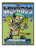 Music Memorabilia:Original Art, The Weirdos Concert Poster and Original Art (The Firehouse, 2003)Having just reformed in the past few years, Los Angeles' ...(Total: 2 )