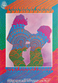 "Music Memorabilia:Posters, Youngbloods ""Mist Dance"" Avalon Concert Poster FD-81 (Family Dog,1967). If far-out, trippy, psychedelic images are your cup..."