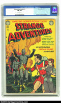 Golden Age (1938-1955):Science Fiction, Strange Adventures #13 (DC, 1951) CGC FN+ 6.5 Off-white pages. GilKane cover. Anderson, Infantino, and Toth art. Overstreet...