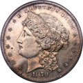 1879 $1 Metric Dollar, Judd-1617, Pollock-1813, R.4 -- Obverse Spot Removed -- NCS. Proof Details....(PCGS# 61995)