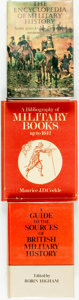 Books:Reference & Bibliography, [Military History] [Reference]. Group of Three Books. Variouspublishers and dates.... (Total: 3 Items)