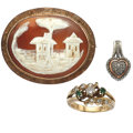 Estate Jewelry:Lots, Multi-Stone, Gold, Pink Gold Sterling Silver Jewelry. ...