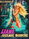 "Movie Posters:Adventure, Liane, Jungle Goddess (Sofradis, 1960). First Release French Grande(45"" X 62""). Adventure.. ..."