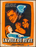 "Movie Posters:Foreign, La Voix Du Reve (Cine Selection, 1949). French Affiche (23.5"" X 30.5""). Foreign.. ..."
