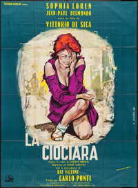"Two Women (Les Films Marceau, 1961). French Grande (47"" X 63""). Foreign"