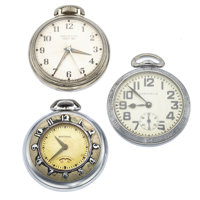 Caravelle, Westclox & Sentinel Pocket Watches