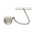 Estate Jewelry:Other , Diamond, White Gold Tie Tack. ...