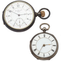 Gaven Spence & Co & Swiss Silver Pocket Watches