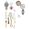 Timepieces:Pocket (pre 1900) , Watches, Parts, Chains & Key Winders. ... (Total: 13 Items)