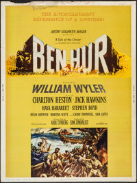 """Ben-Hur (MGM, 1959). Poster (30"""" X 40"""") Style Y. Academy Award Winners"""