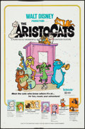 "Movie Posters:Animation, The Aristocats (Buena Vista, 1971). One Sheet (27"" X 41""). Animation.. ..."