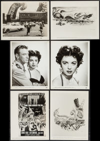 """It Came from Beneath the Sea (Columbia, 1955). Portrait and Scene Photos (23) & Key Art Photos (4) (8"""" X 10..."""