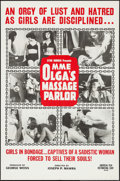 """Movie Posters:Sexploitation, Mme. Olga's Massage Parlor & Other Lot (American Film Company,1965). One Sheet (27"""" X 41"""") and Trimmed One Sheet (26.5"""" X 4...(Total: 2 Items)"""