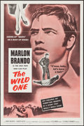 "Movie Posters:Exploitation, The Wild One (Columbia, R-1960). One Sheet (27"" X 41"").Exploitation.. ..."