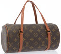 "Luxury Accessories:Accessories, Louis Vuitton Classic Monogram Canvas Papillion PM Bag. GoodCondition. 11"" Width x 5"" Height x 5"" Depth. ..."